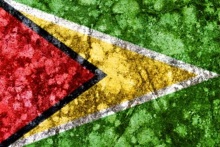 Guyana: guyana grunge flag Stock Photo