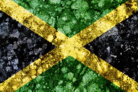 jamaica grunge flag photo