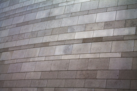 Rectangular pieces in a grey marble wall texture photo