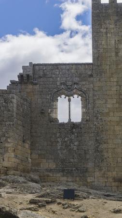 belmonte: Castle in the village of Belmonte in Portugal