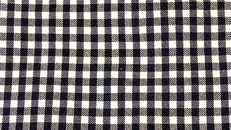 checkers: Macro from fabric made of cotton with checkers effect