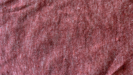 Macro from knitted cotton jersey made in a loom Foto de archivo - 117135433
