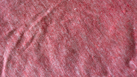 Macro from knitted cotton jersey made in a loom Foto de archivo - 117135435