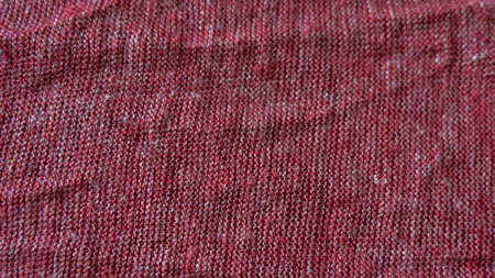 Macro from knitted cotton jersey made in a loom Foto de archivo - 117135438
