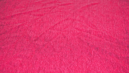 Detailed picture of jersey made from linen in pink color Foto de archivo - 117135550