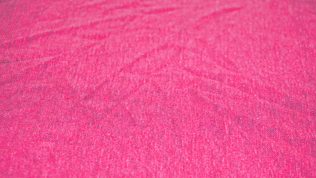 Detailed picture of jersey made from linen in pink color Foto de archivo - 117135553