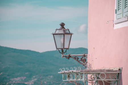 lamp post: Lamp post at Tellaro