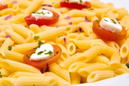 pasta dish: tomato pasta dish