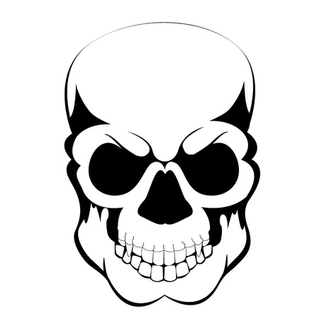 tattoo skull Stock Vector - 15595269