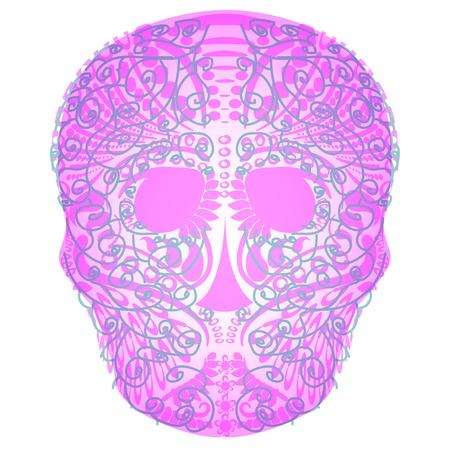 art skull Stock Vector - 18730422