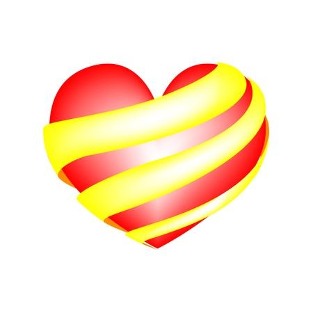 heart shape Stock Vector - 19468563
