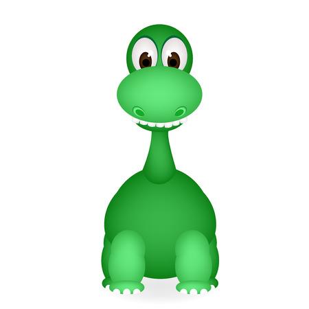 carboniferous: cute dinosaur Illustration