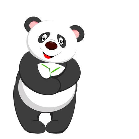 one panda: cute panda smile