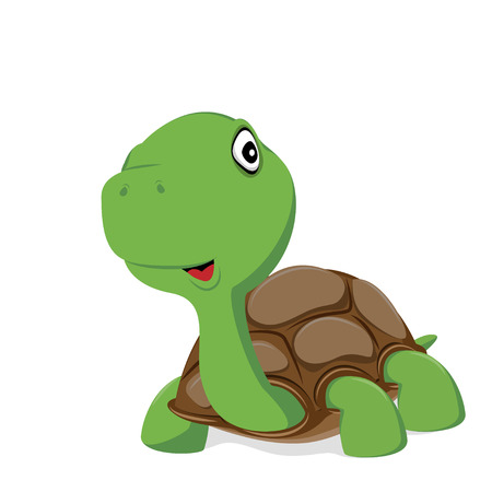 cute turtle vector of iilustration