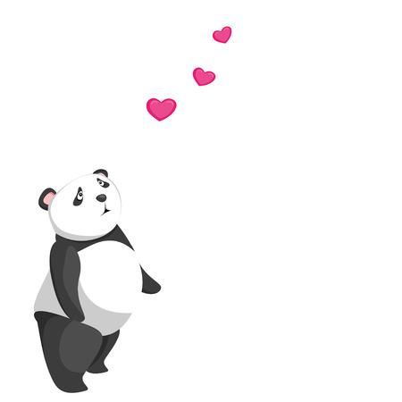 one panda: cute baby panda love