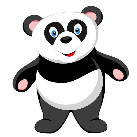 one panda: cute baby panda smile