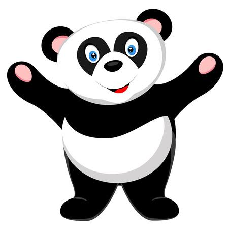 one panda: cute panda