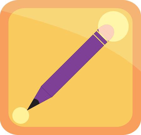 icon pen Illustration