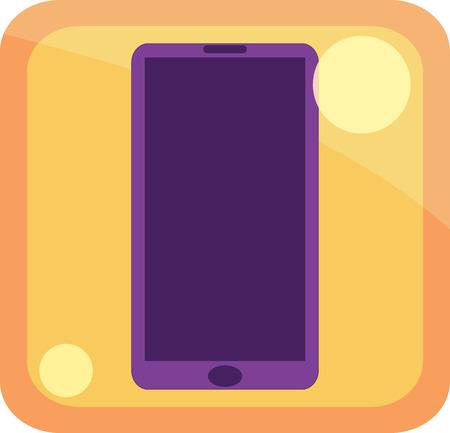 icon phone Illustration