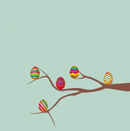 ester: easter egg vector of illustration