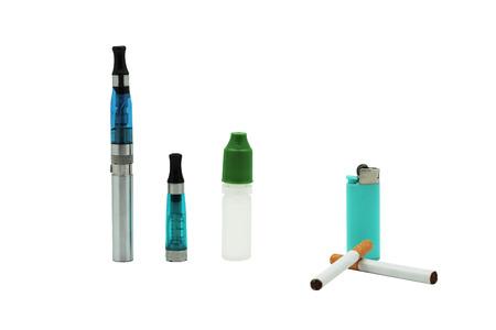 classic cigarette or electronic cigarette