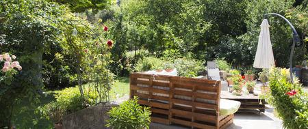 verde jardín para relajarse en provence