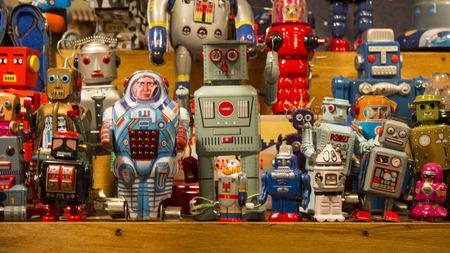 robot: pie de juguetes