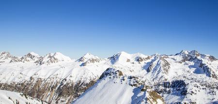 snowcapped: winter landscape in France