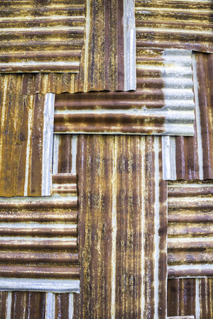 Texture and pattern of old galvanized iron background