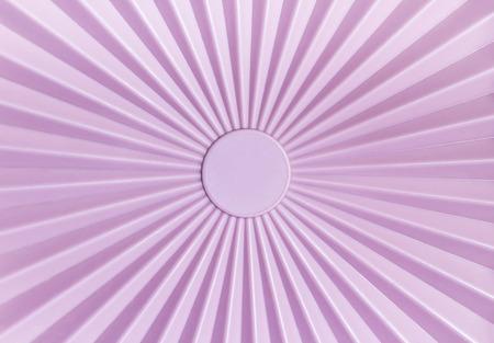 tupperware: Rays pattern of pink plastic tupperware background Stock Photo