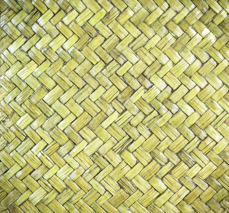 Wooden bamboo rattan texture with natural patterns
