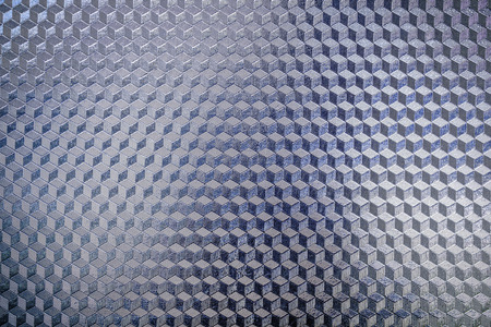 shiny metal background: Blue shiny pattern surface of metal background