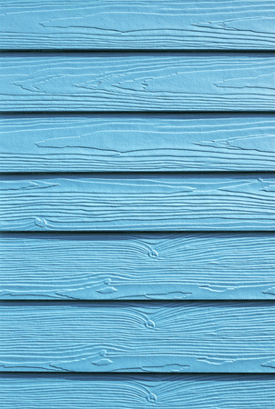 Closeup pattern and  texture of blue wooden background