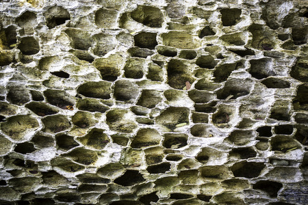 Texture and pattern of old weathered wood background Stock Photo