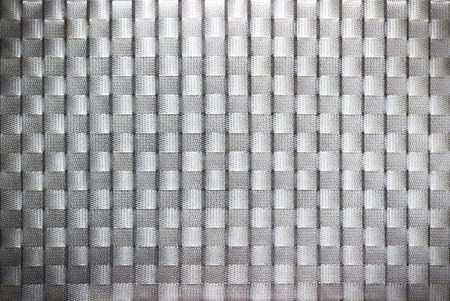 Pattern and texture of plastic weave background Stock Photo