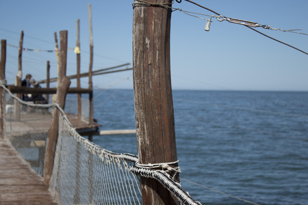 View from the Trabocco