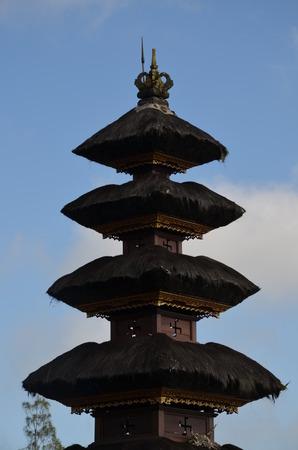 swastika: Swastika Temple on Bali in the Besakih Area