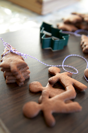 Christmas Gingerbread Cookies, Biscuits photo
