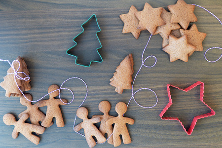 gingerbread cookies: Christmas Gingerbread Cookies, Biscuits