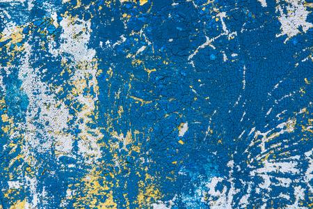 Gemalter alter hölzerner blauer Wal Standard-Bild - 77108763