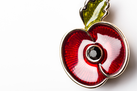 Red Poppy as a Symbol of Remembrance Day, 11 November