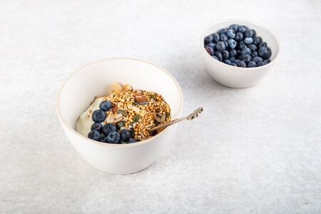 New vegan healthy snack from quinoa granola, this is nutritionally enhanced quinoa based breakfast alternative, free from gluten, grains, dairy and refined sugar