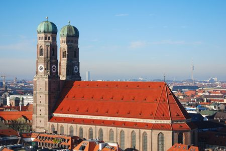 the frauenkirche: Munich Frauenkirche