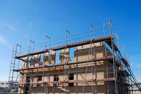 house under construction Standard-Bild