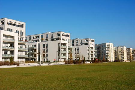 modern appartment buildings in Munich