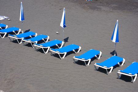 beach couches photo