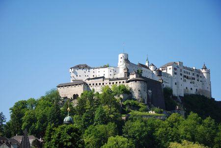 castle at Salzbug, Austria