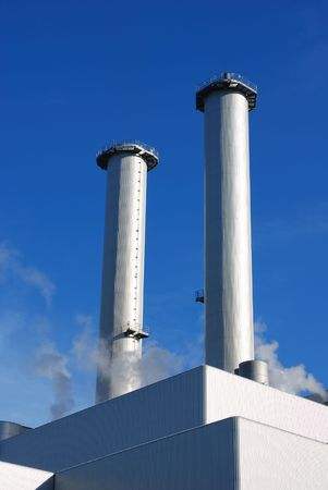 globalwarming: smoke stacks