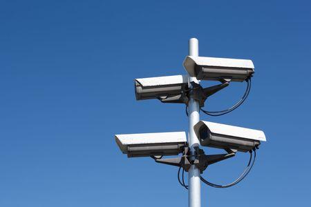 four security cameras