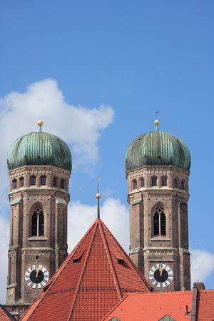 spires: spires munich cathedral